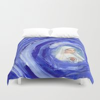 mother Duvet Covers featuring Mother by Ibbanez