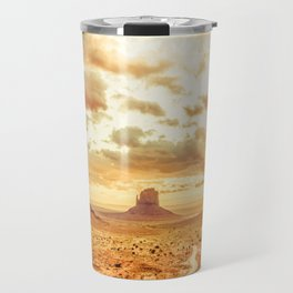 Monument Valley Sunrise Travel Mug