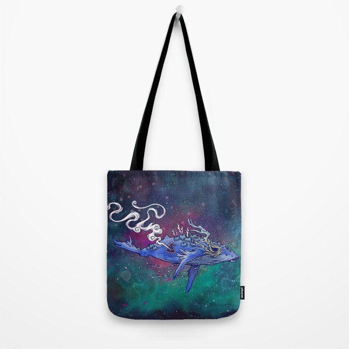The Last Whale Tote Bag