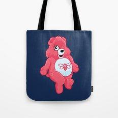 breaking bear. Tote Bag