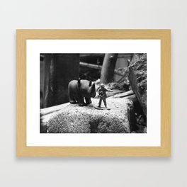 That Way Framed Art Print