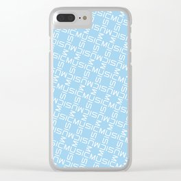 MUSIC GRID ver3 Clear iPhone Case