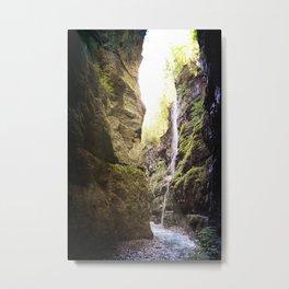 Waterfalls in GAP Metal Print