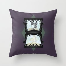 Maleficent's Hour Throw Pillow