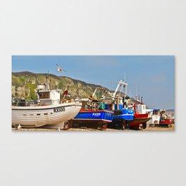 Fisherman's Beach Canvas Print