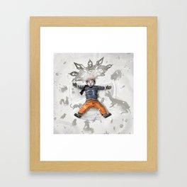 Snow Angel Framed Art Print