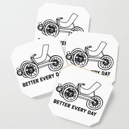 Better Every Day Recumbent Trike Tricycle Bike Bicycle Healthy Editor Coaster