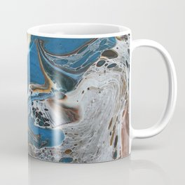 Blue swirl Coffee Mug