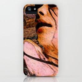 aunt rhody iPhone Case