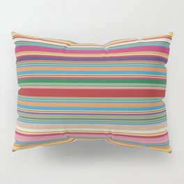 Colored lines Pillow Sham