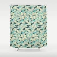 prism Shower Curtains featuring Prism by Creo