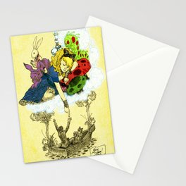 'Dreaming Alice' by Kevin C. Steele Stationery Cards