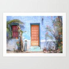 Barrio Viejo  Art Print