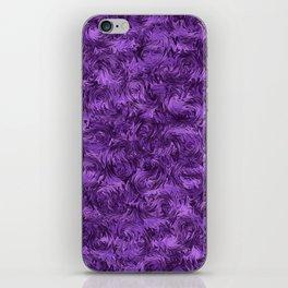 Marbled Paisley - Purple iPhone Skin
