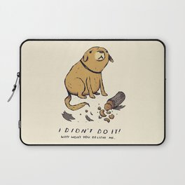 guilty dog Laptop Sleeve