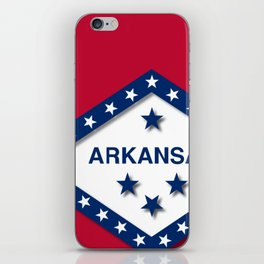 Arkansas iPhone Skin