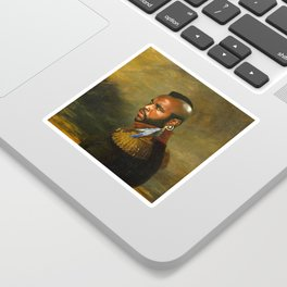 Mr. T - replaceface Sticker