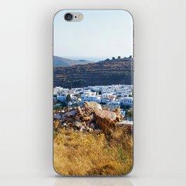 Pyrgos village iPhone Skin