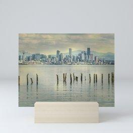 Seattle Dawn Mini Art Print