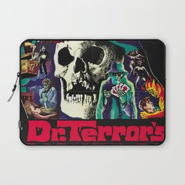 House of Horrors, doctor Terrors, vintage horror movie poster Laptop Sleeve