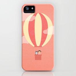 In A Hot Air Balloon iPhone Case