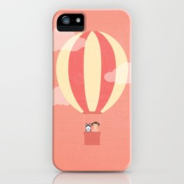 In A Hot Air Balloon iPhone Case