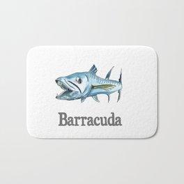B is for Barracuda Bath Mat