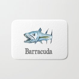 B is for Barracuda Bath Mat