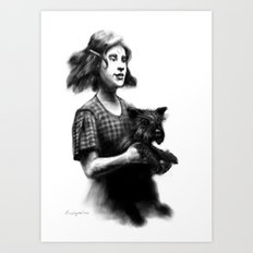 Dorothy of Oz Art Print