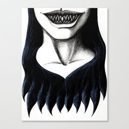 Wicked Grin Canvas Print