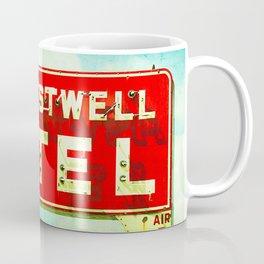 Restwell Motel Sign  Coffee Mug