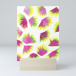 Pink Yellow Green Pop Mini Art Print
