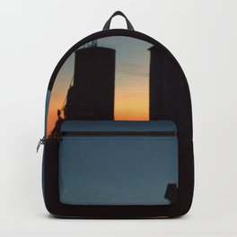 Silos at Sunrise Backpack