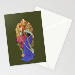 For the First Time in Forever Stationery Cards