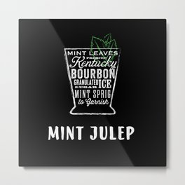 Mint Julep by Stephen Fowler Metal Print