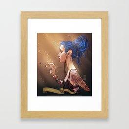 Karou Painting in Light Framed Art Print
