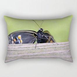 Clinging On Rectangular Pillow