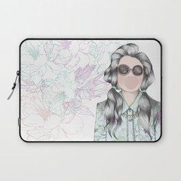 GUM FLOWER GIRL Laptop Sleeve