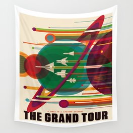 The Grand Tour Wall Tapestry