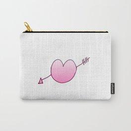 Heart pierced by an arrow 3 Carry-All Pouch