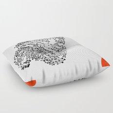 the Fingerprint Floor Pillow