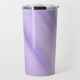 Purple Watercolor Travel Mug