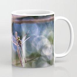 Dragon Fly in Forest Coffee Mug