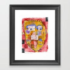 I feel playful Framed Art Print