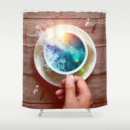 spoondrift Shower Curtain