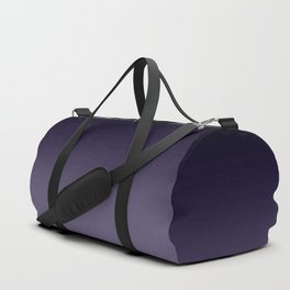 Ombre Ultra Violet Dark Purple Duffle Bag