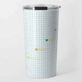 Checked Pattern_I Travel Mug