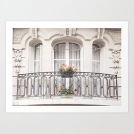 Paris Balcony, France, Europe Art Print