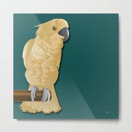 Ivory the Bird Metal Print