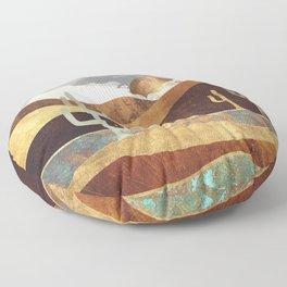 Patina Desert Floor Pillow
